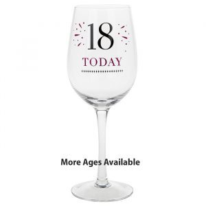 Milestone Age Wine Glasses