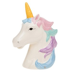 Pastel Unicorn Head Money Box