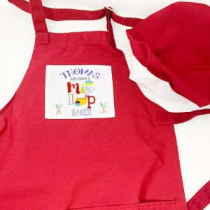Child's Apron & Hat