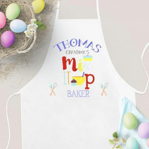 Child's Baking Set with Waterproof Apron