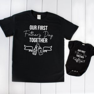 First Fathers Day T-shirt & Baby Vest