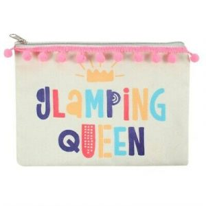 Glamping Queen Cosmetic Bag