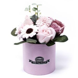 Petite Soap Flower Gift Pot
