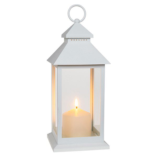 Traditional White Eternal Flame Lantern